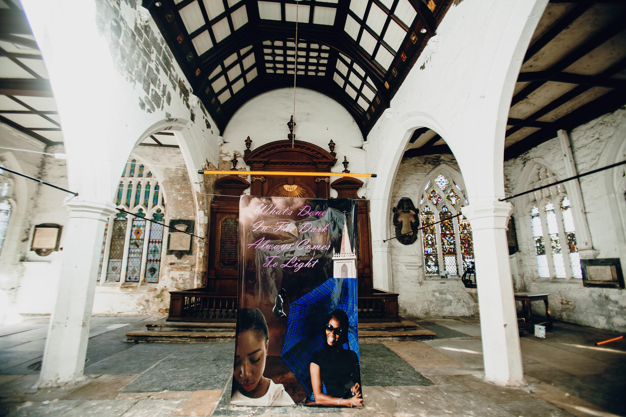 Life is… Grand - Brandon Covington Sam-Sumana - Still We Rise at York Mediale 2018 © Sodium-009