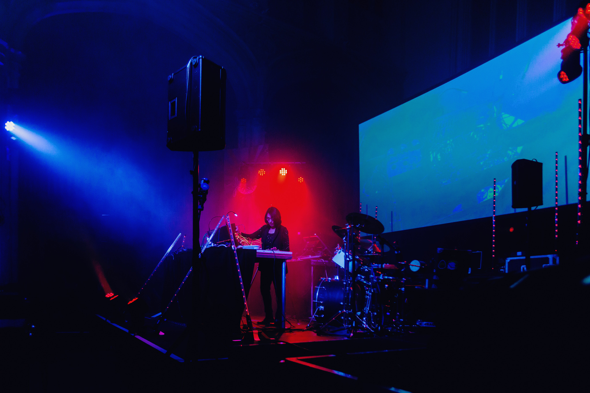 Suzanne Ciani at York Mediale 2018 © Sodium010
