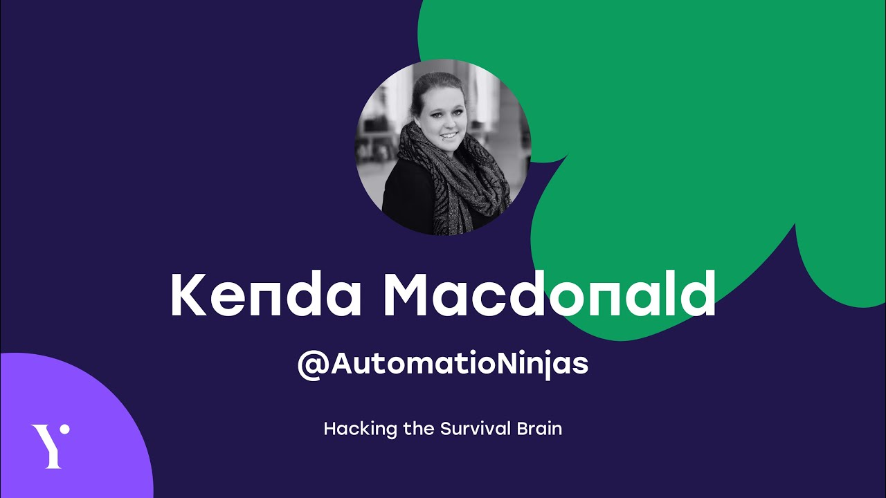 Kenda Macdonald - Hacking the Survival Brain