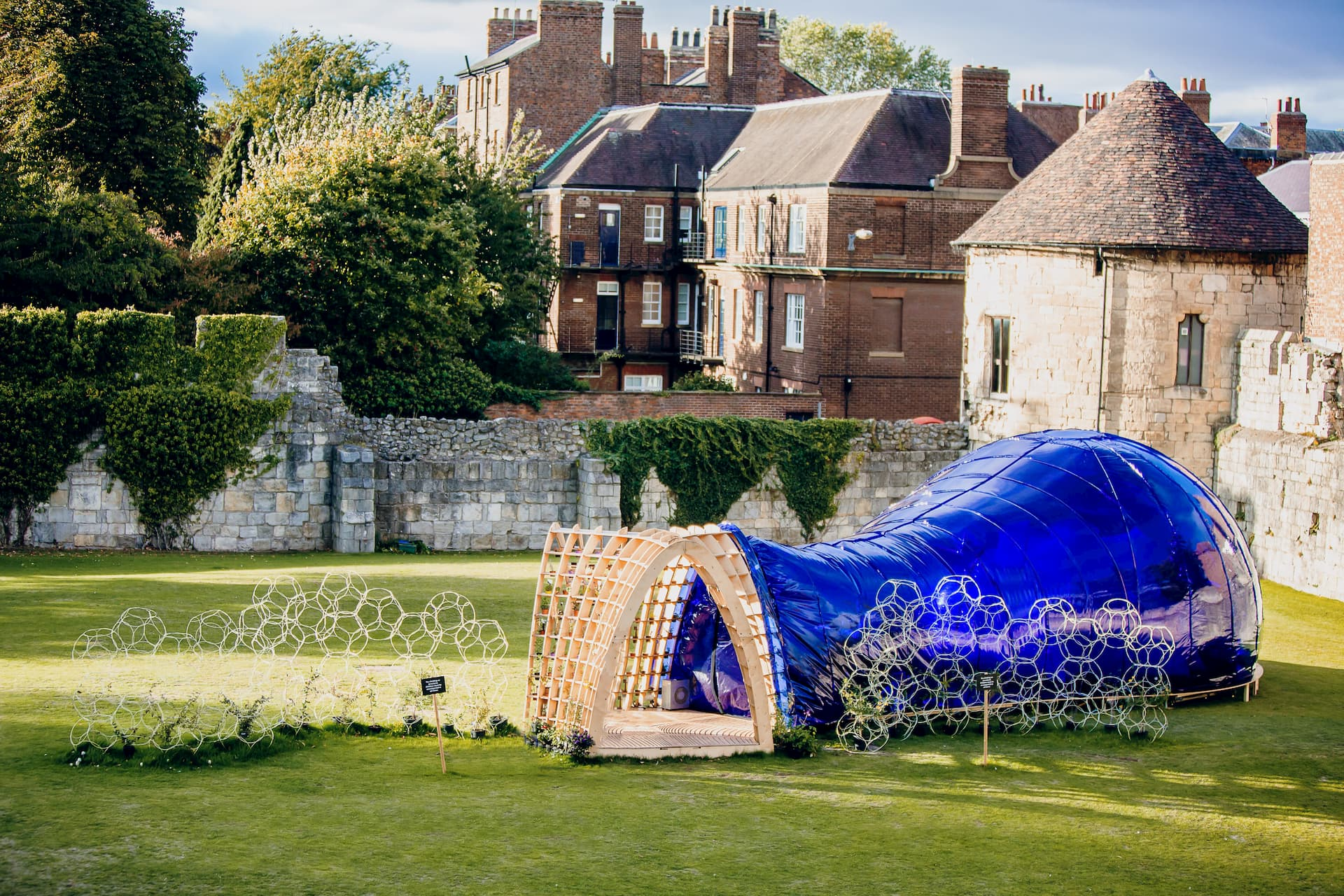 The Pollinarium in the Artist Gardens at York Art Gallery © York Mediale